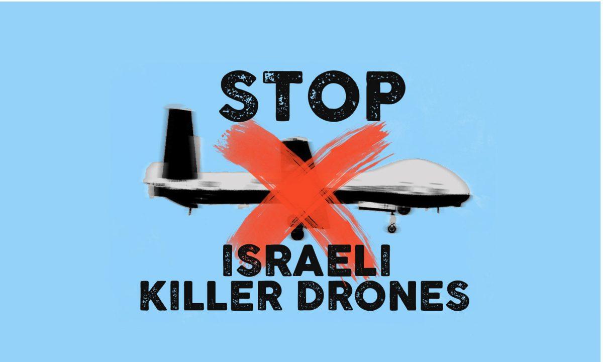 Ferma l'uso di droni israeliani contro i migranti